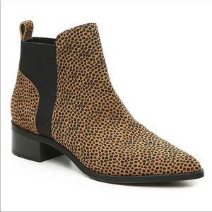 Crown Vintage Afessa Leopard bootie size 8